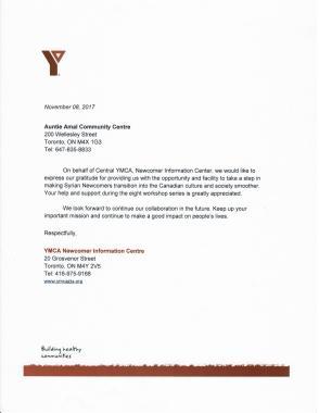 YMCA ...